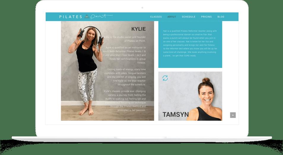 pilates-web-design