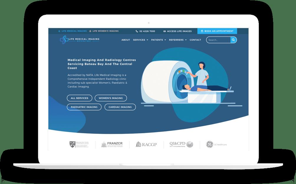 radiology website