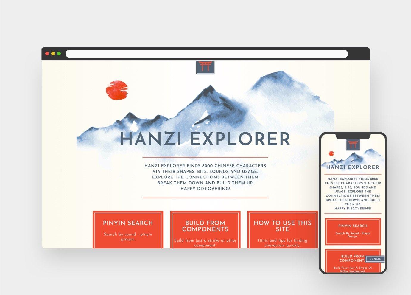 Hanzi Explorer