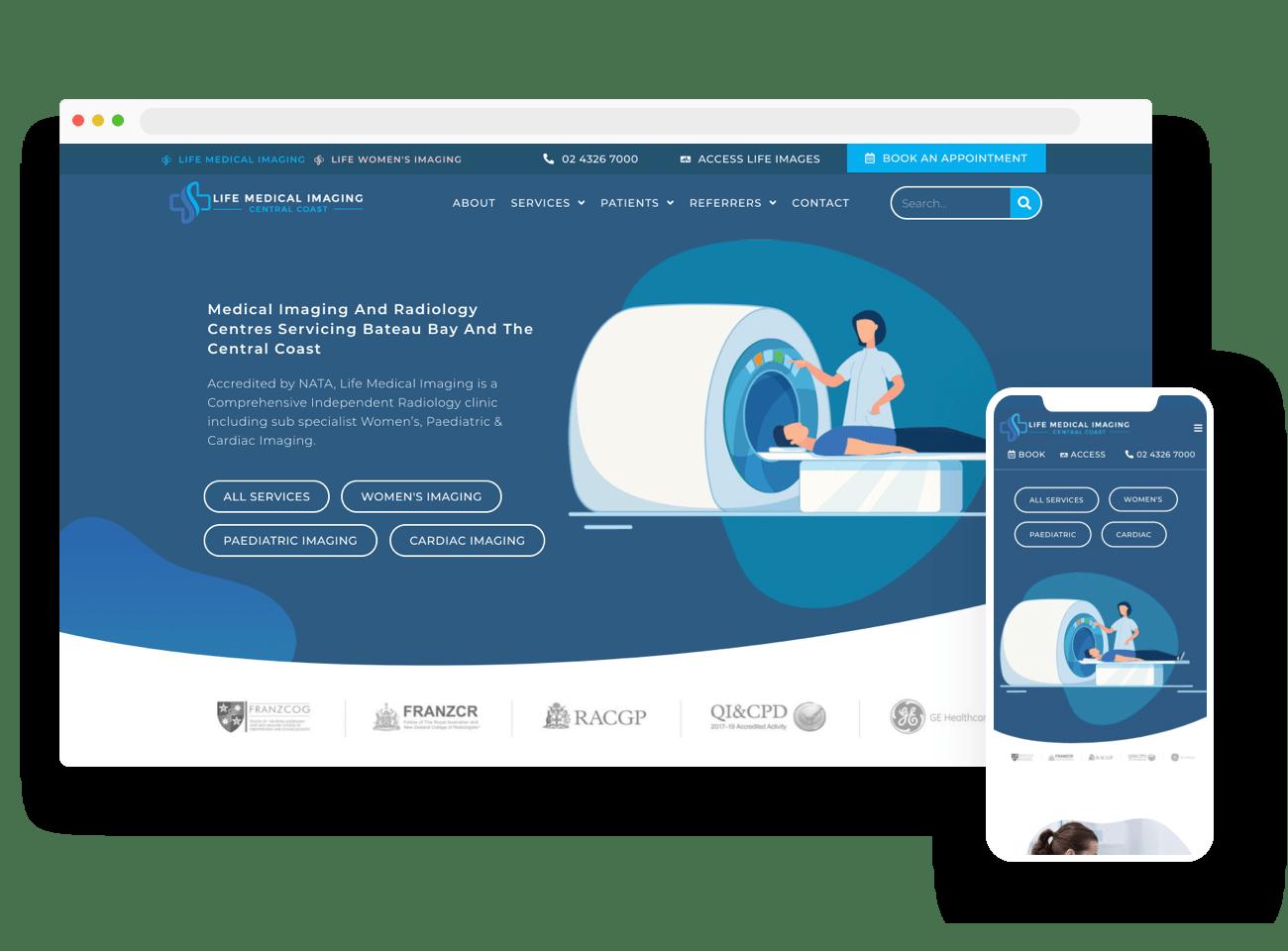 Medical Web Design