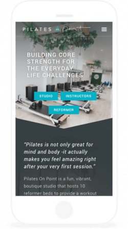 pilates-mobile-website